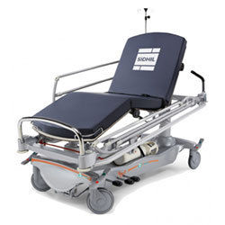 Flexible and versatile E-Med patient trolleys from Sidhil