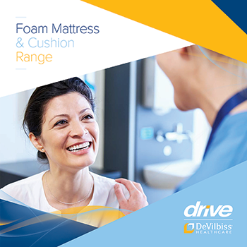 Enhanced Range of Foam Mattresses from Drive DeVilbiss