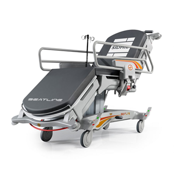 Introducing the new Seatline day surgery patient trolley