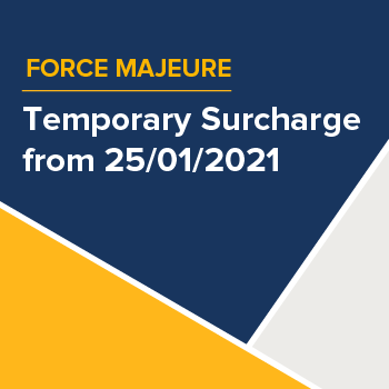 Customer Communication - Temporary Surcharges