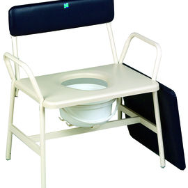 Commode chair with lid