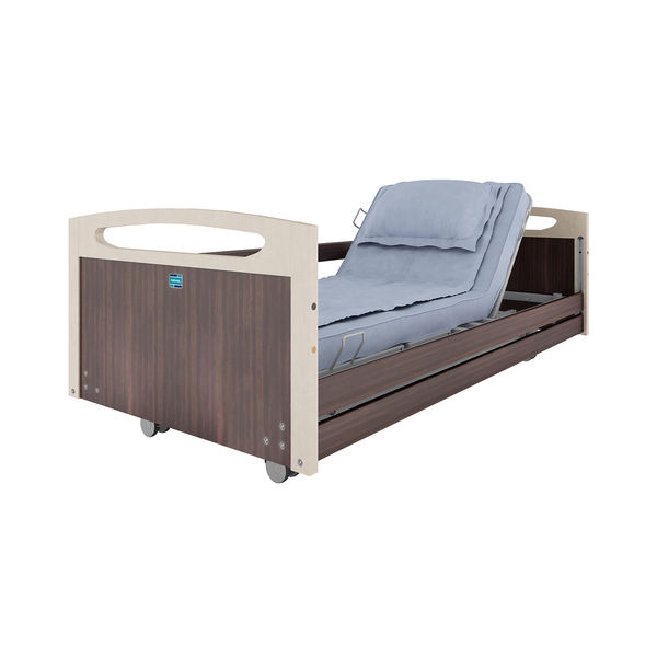 HEB/03/SR/100/LOAK Hebden 03 Nursing Care bed with Side Rails