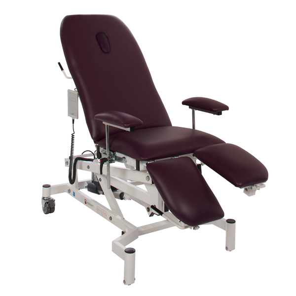 CHE04/BH/(COLOUR)1 Doherty Treatment Chair with breathing hole