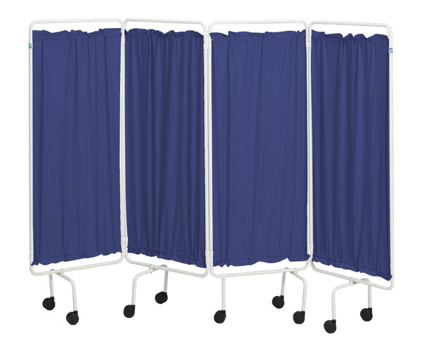 SCR23 Navy Blue plastic screen curtains