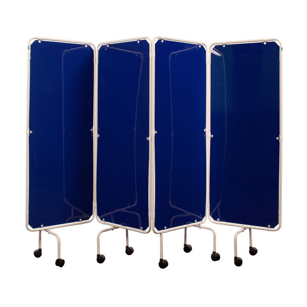 SCR01/WHITE/SCRPK/BLUE Screen Frame with Blue Panels